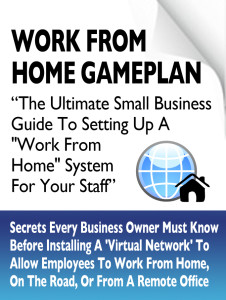 Work From Home Free Report