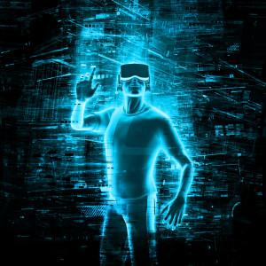 Virtual reality user
